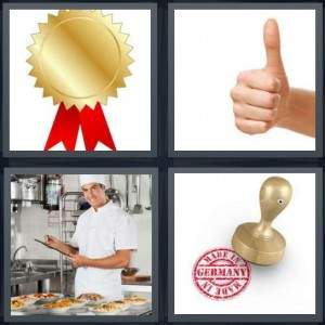 4-pics-1-word-thumbs-up-chef-kitchen-made-in-germany-stamps-seal-2