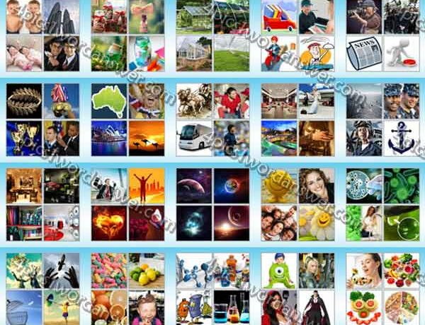 The New 4 Pic 1 Word Level 61 80 Answers 2651661 600x460
