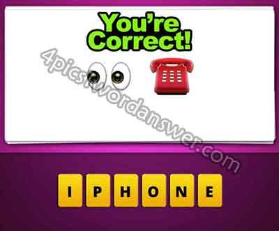 Emoji Eyes And Phone 5770787