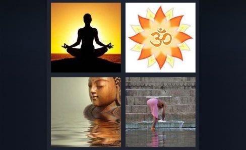 4-pics-1-word-level-378-answers-buddha-statue-yoga-meditate-sun-water-2