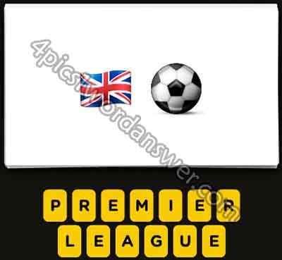 Emoji British Flag And Soccer Ball 5386801