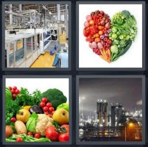 4-pics-1-word-vegetables-in-shape-of-heart-city-factory-and-power-plant-2