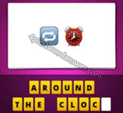 emoji-pop-answer-repeat-cycle-turn-around-circle-arrow-and-red-alarm-clock